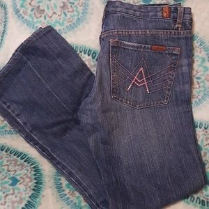 Seven for all mankind jeans new condition